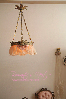 an absolute french antique & romantique chandelier  ..........
